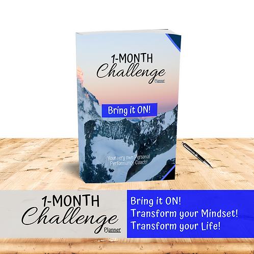 1-Month Challenge planner & journal (2in1)