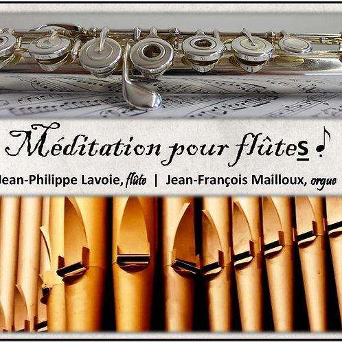 Méditation pour flûtes (disque compact)