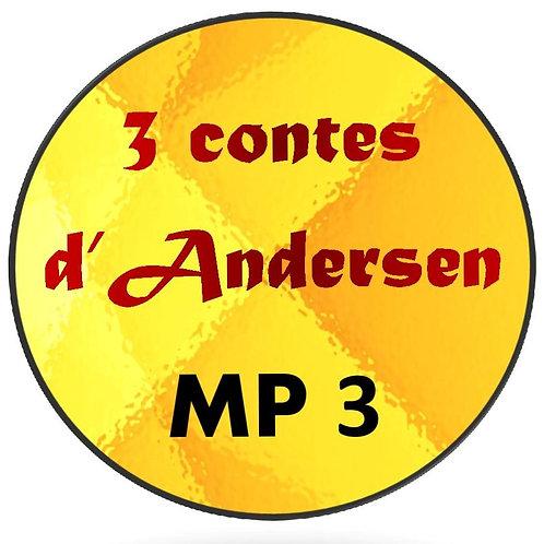 3 Contes d'Andersen (MP3)