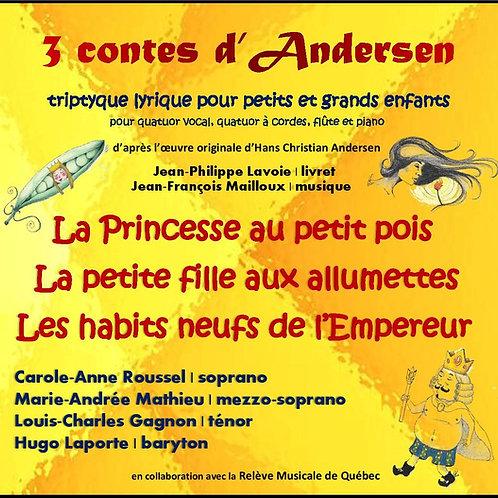 3 Contes d'Andersen (disque compact)