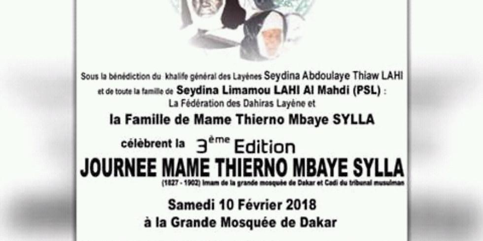 3ème édition Journée Thierno Mbaye Sylla