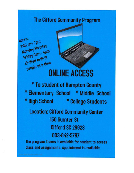 The Gifford Community Program: Online Access
