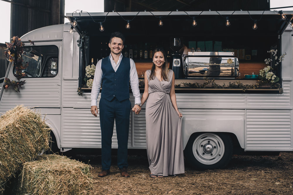 big shot mobile wedding bar barn citroen