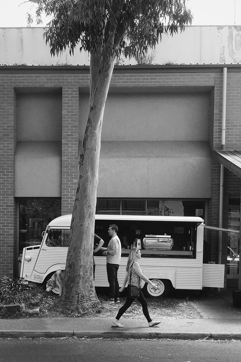 big shot black and white citroen h van s