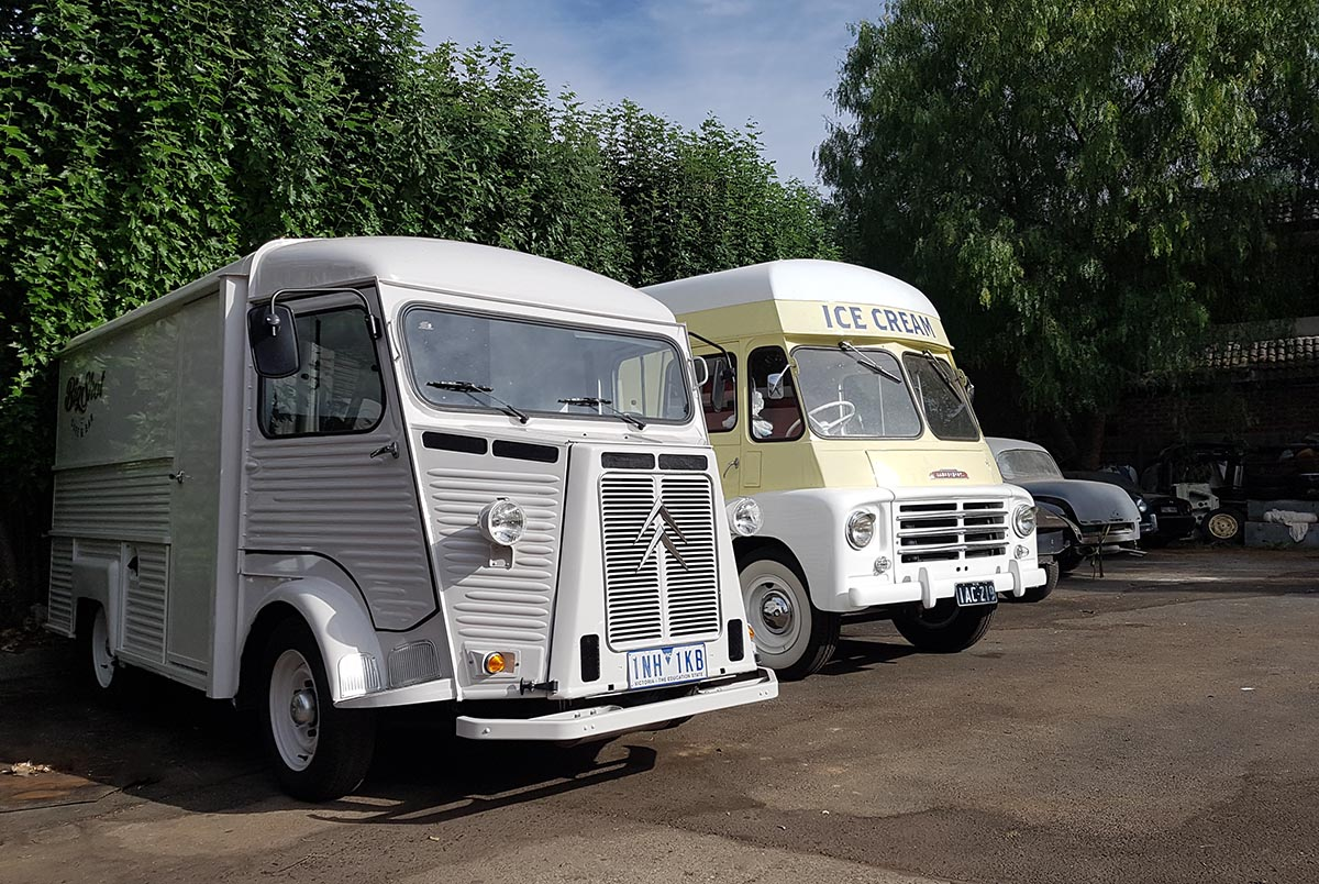 big shot citroen h van morris van