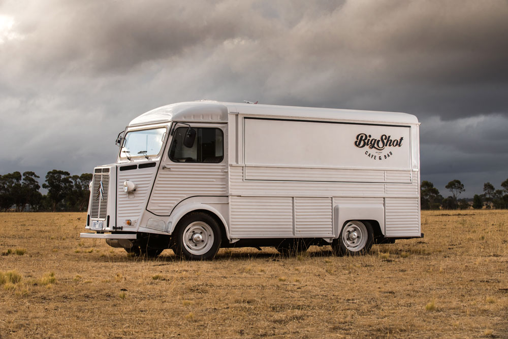 big shot mobile wedding bar citroen h va
