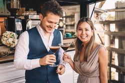 big shot mobile wedding bar espresso mar