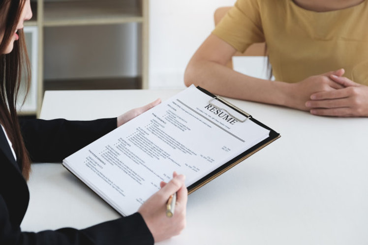 job-interview-office-concept-focus-resum