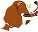 Logo of the BWSSF or Belgian Welsh Springer Spaniel Friends