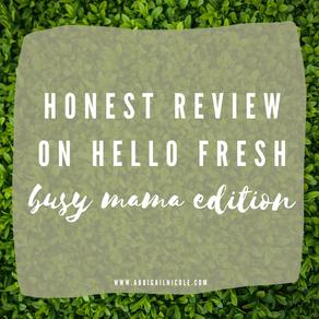 Hello Fresh   A Dinner Meal Kit Box - An HONEST Review