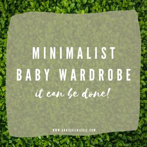 Capsule Wardrobe: Newborn Baby