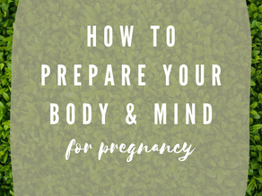 Preparation for Conception: Finance, Mental & Physical Health