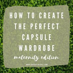 Capsule Wardrobe: Maternity Edition