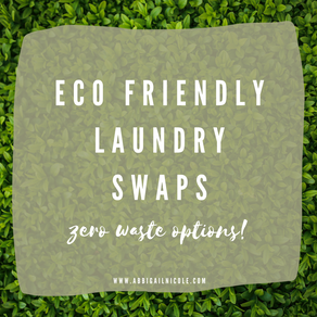 Things I Stopped Buying & What I Use Instead: Laundry Edition