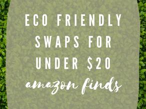Eco Friendly Swaps Under $20 | Amazon Finds