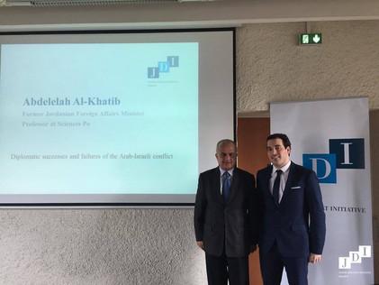 Seminar with Abdelelah Al-Khatib: the Arab-Israeli conflict - 3 March 2017