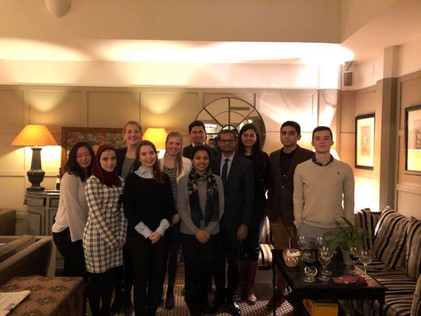 Afterwork with Indian Diplomats - 4 December 2017