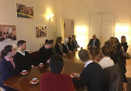 Embassy Residence of the Hashemite Kingdom of Jordan in France - 22 November 2018