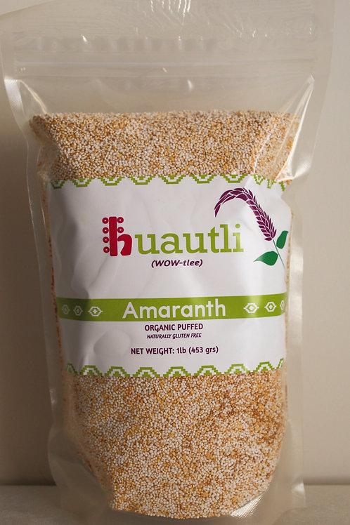Organic Puffed Amaranth - Large Bag (1 lb)