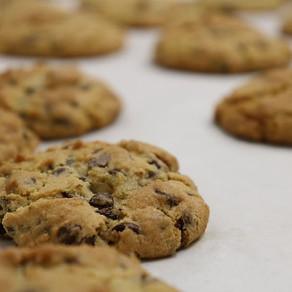 Peanut Butter Chocolate Amaranth Cookies