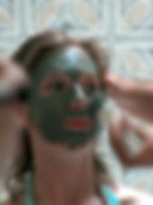 Davutlar Hamamı Yüz Maskesi