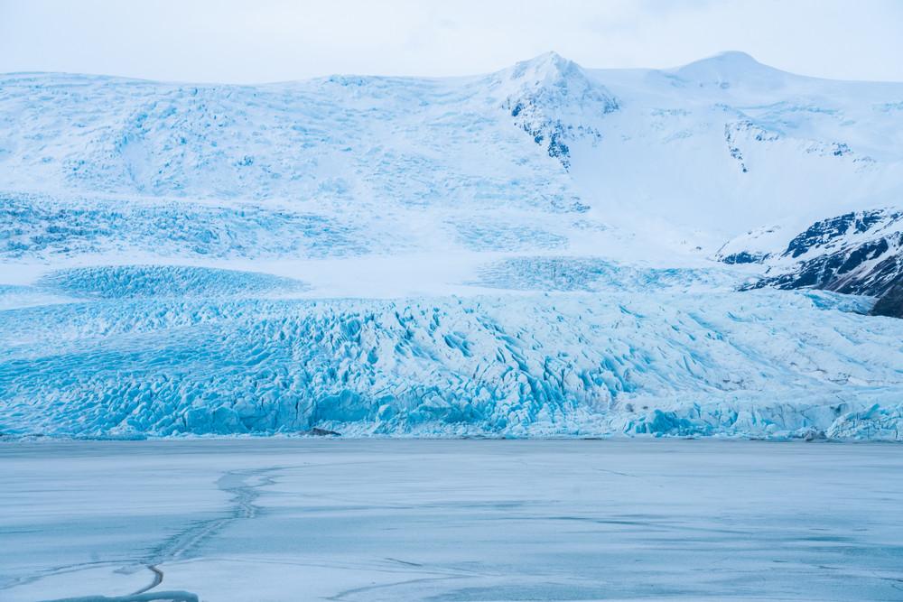 Glacier dans le parc national de Skaftafell