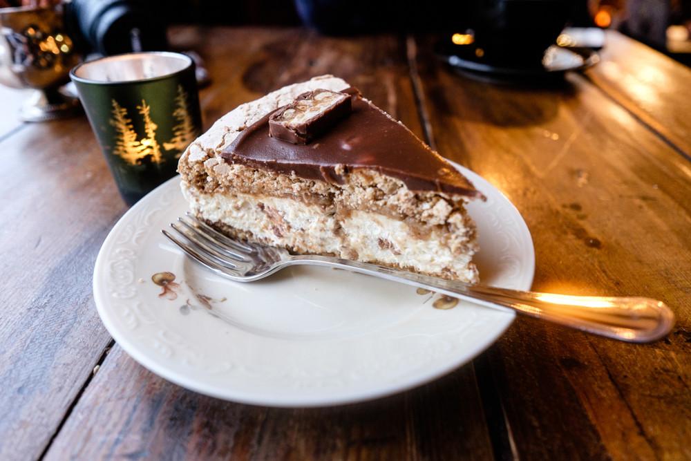 Dessert sucré, gâteau traditionnelle Islandaise