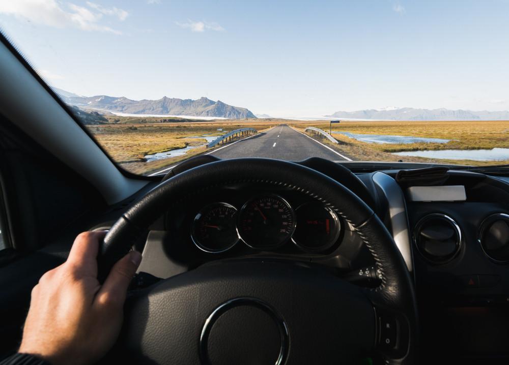 Conduite voiture de location en Islande