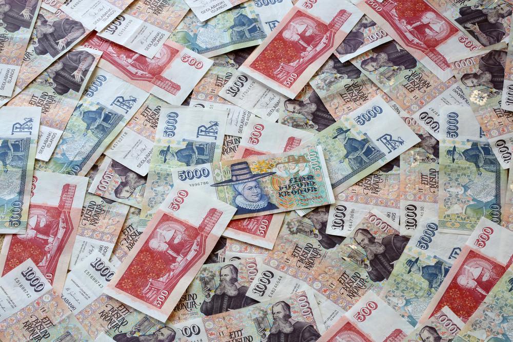 Billets islandais ISK - monnaie islandaise