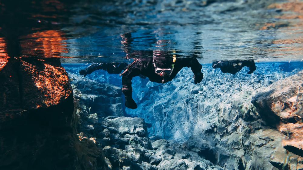 Plongée dans la fissure de Silfra
