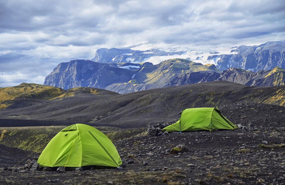 Camper dans les hautes-terres d'Islande en été - Guide de vos vacances en Islande