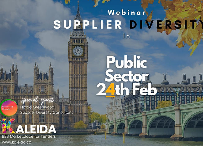 Kaleida - Supplier Diversity Webinar