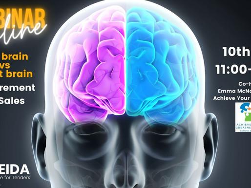 Left-brain vs Right-brain, Procurement vs Sales