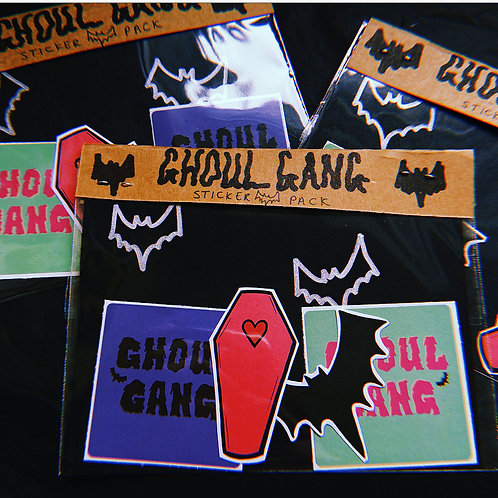 Ghoul Gang Sticker Packs