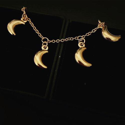 Alternative Crescent Moon Bracelet