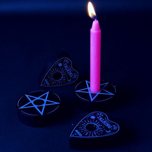 SPELL CANDLE HOLDERS