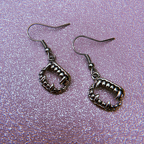 Fang Earrings
