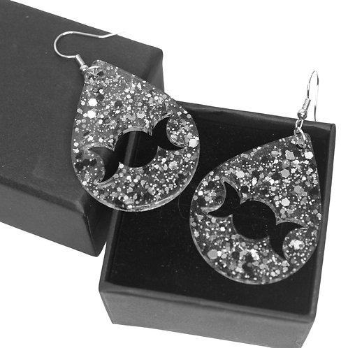 Triple Moon - Dangle Earrings