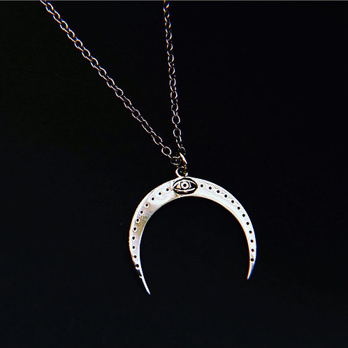 CRESCENT - Sterling Silver Necklace