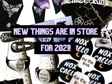 THINGS ARE CHANGING! NEW & EXCITING THINGS IN STORE FOR 2021.