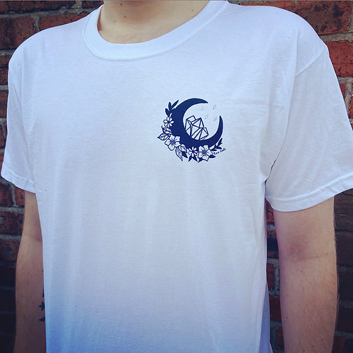 Moon Pocket Print T-Shirt