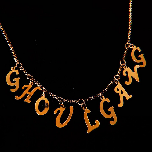 GHOUL GANG GOLD Necklace
