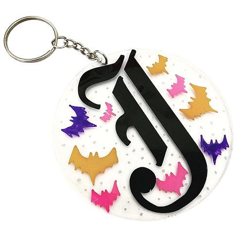 INITIAL Bat - Keychain