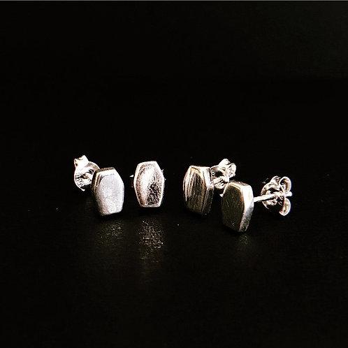 SLEEP TIGHT - Sterling Silver Stud Earrings