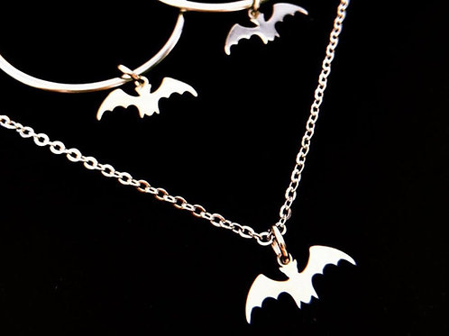 Lil' Bat Necklace