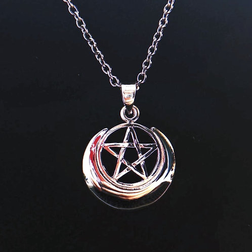 LUNAR PRIESTESS - Sterling Silver Necklace