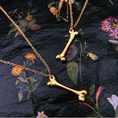 Golden Femur Necklace