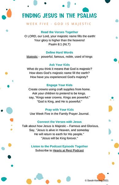 Weekly Plan Finding Jesus Graphics-Week5