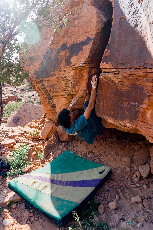 bouldering in utah