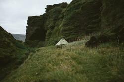 tent vik iceland